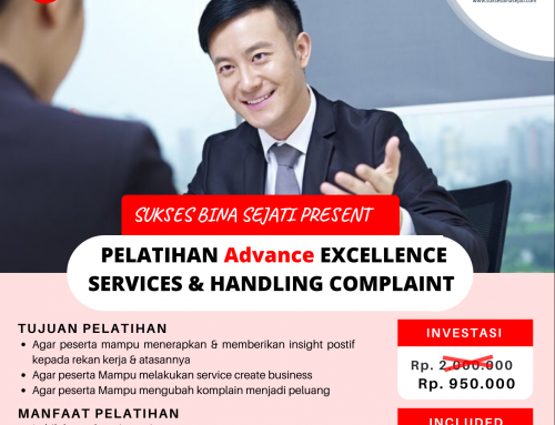 PELATIHAN Advance EXCELLENCE SERVICES & HANDLING COMPLAINT 29 JANUARI 2020