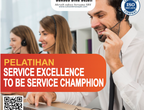 Pelatihan Service Excellence To Be Service Champion